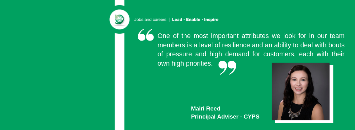 Quote from Mairi Reed, Principal Adviser