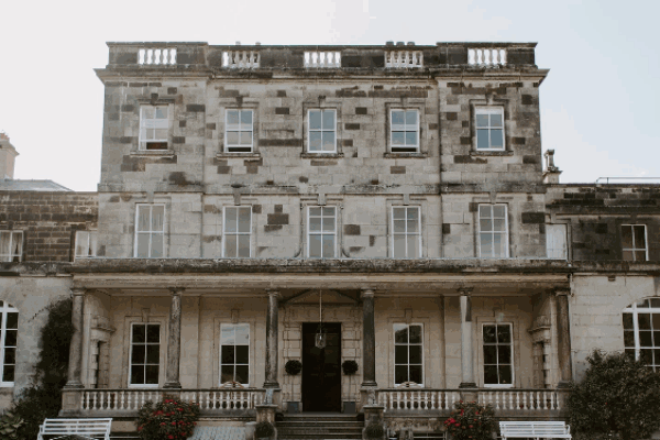 Birdsall House wedding venue exterior