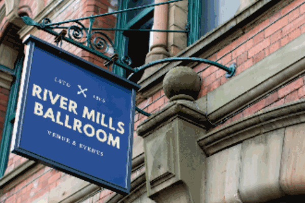 River Mills Ballroom wedding venue