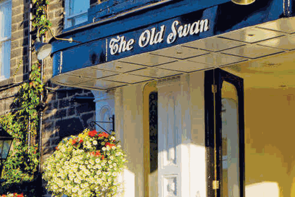 The Old Swan Hotel exterior.