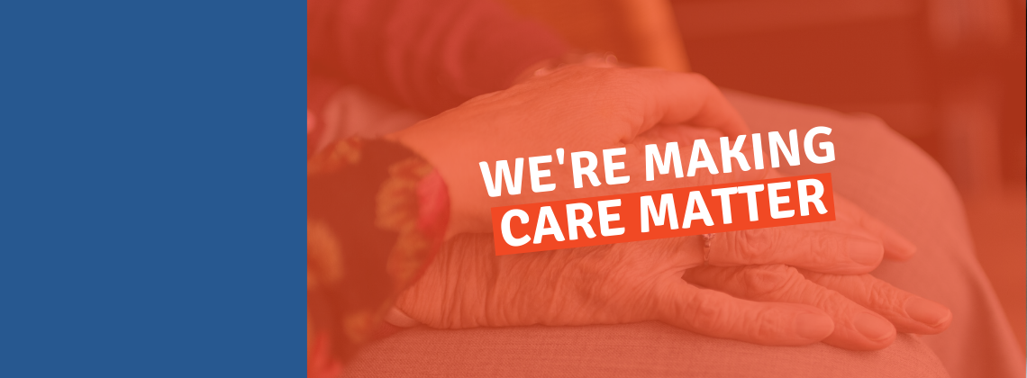 There has never been a better time to consider a career in care...