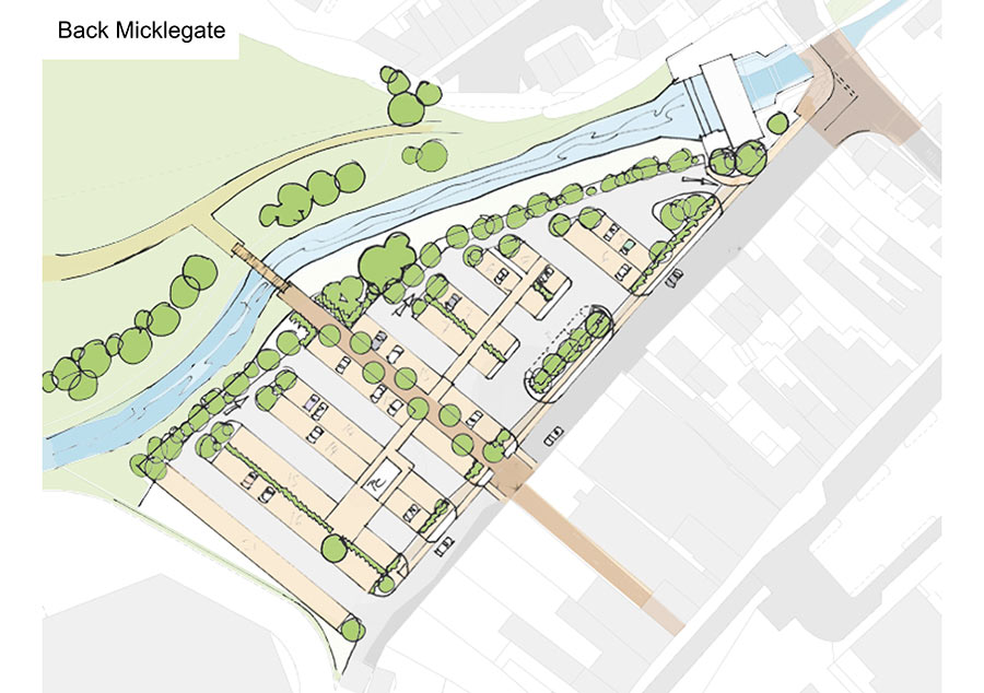 Back Micklegate plan