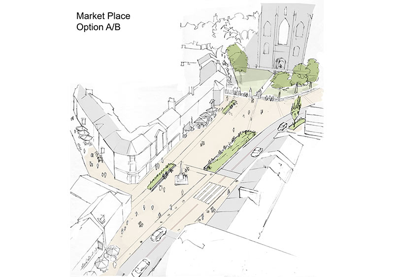 Market place option A/B