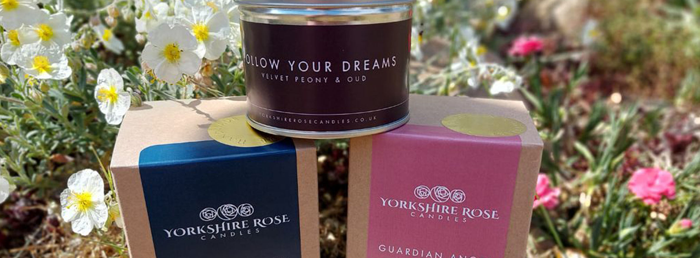 Fragrance box from Yorkshire Candles