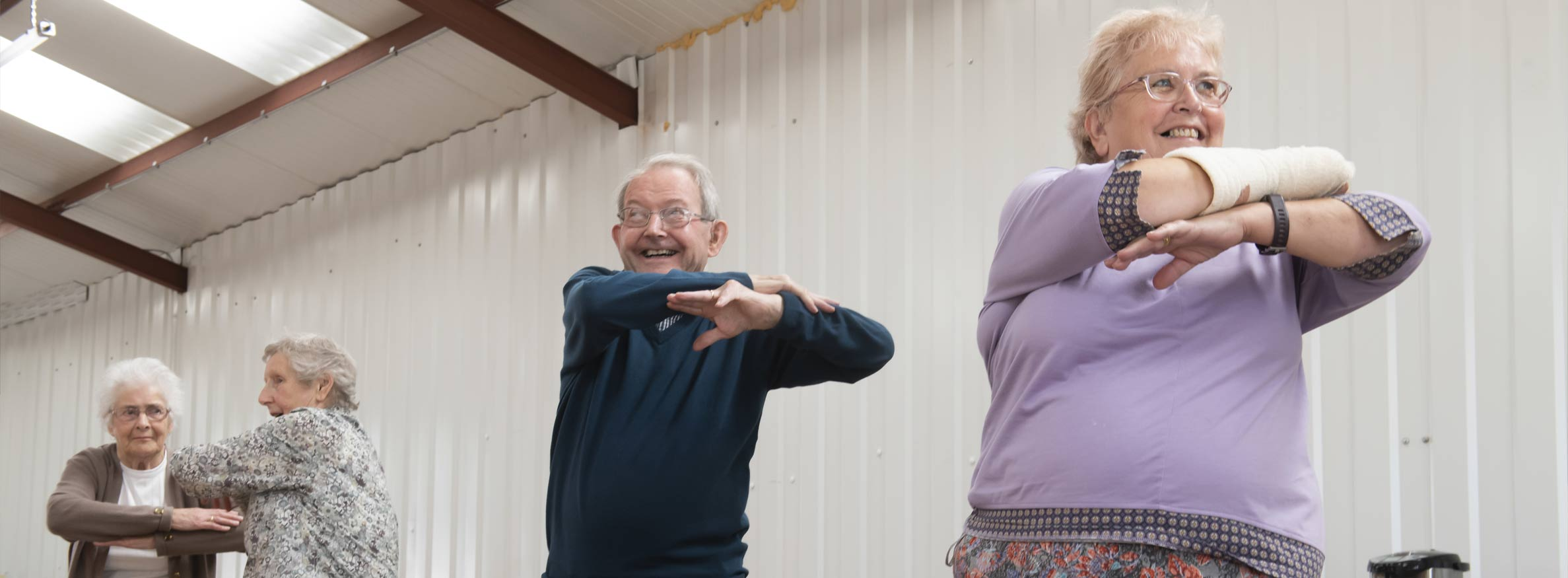 Helping older people to stay Strong and Steady