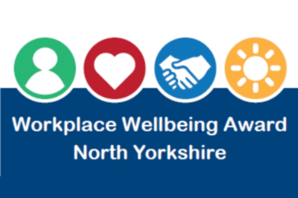 logo of workplace wellbeing award north yorkshire