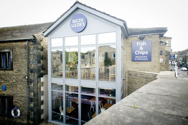 Exterior of Bizzie Lizzie's on Swadford Street in Skipton