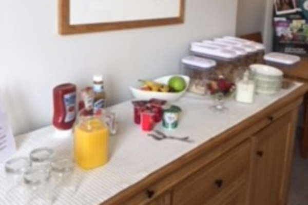 Photograph of Windsor Guest House breakfast bar