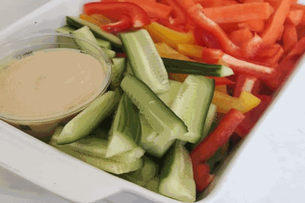 healthier snack served at Tiddlywinks