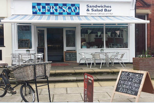 Alfresco is offering Healthier Choices in North Yorkshire.