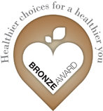 Bronze award for Healthier choices for a healthier you