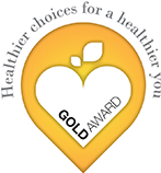 Gold award for Healthier choices for a healthier you
