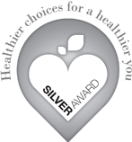 Silver award for Healthier choices for a healthier you