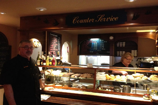 Bonnet & Son cafe is taking part in the North Yorkshire Healthier Choices.
