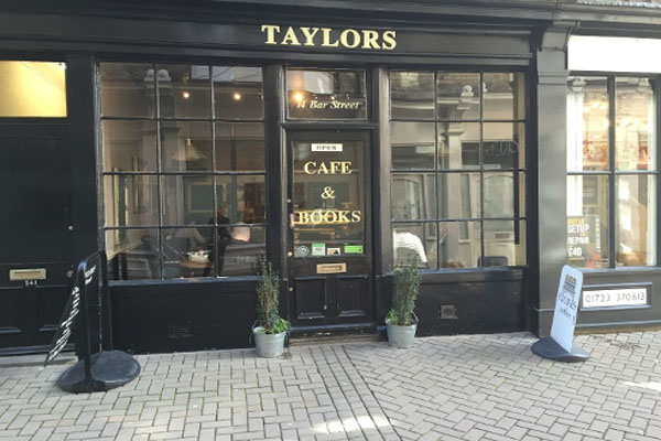 Taylors Cafe & Books is offering Healthier Choices in North Yorkshire.