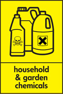 Image symbolising household and garden chemicals