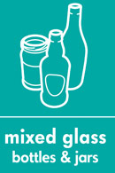 Image symbolising mixed glass