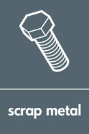 Image of a bolt symbolising scrap metal