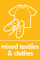 An image symbolising mixed textiles and clothes