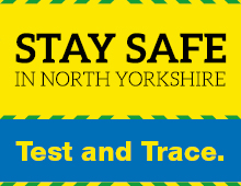 Stay safe in North Yorkshire test and trace