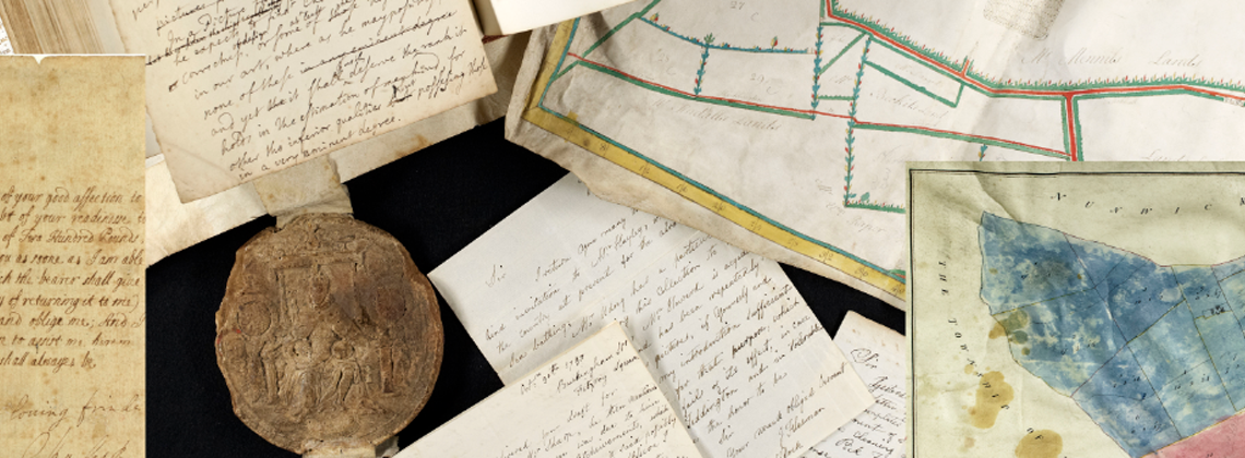 Maps and other documents in the collection of North Yorkshire County Record Office.