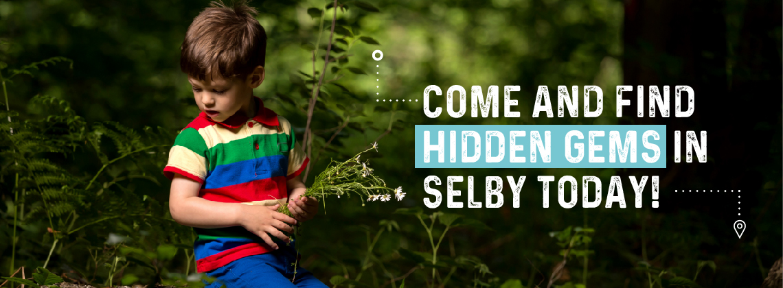 Come and find hidden gems in Selby today.