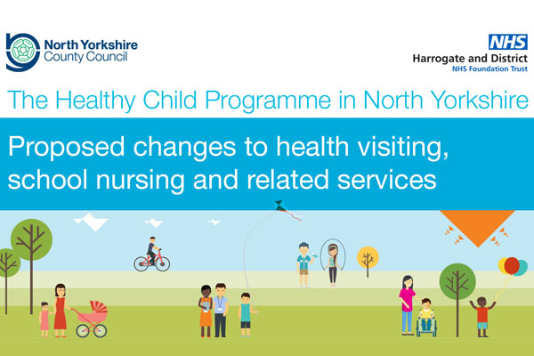 Healthy Child consultation poster