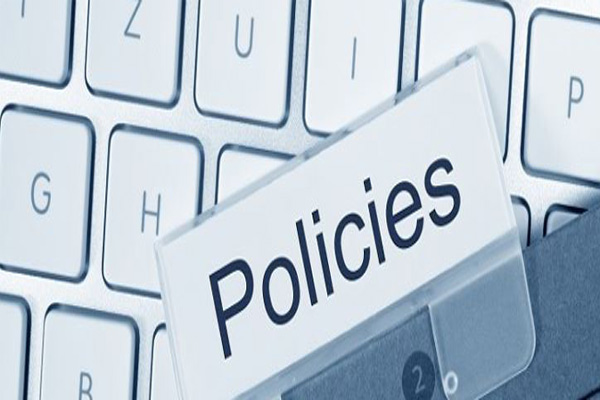 Policies for website usage