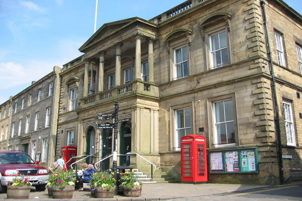 Skipton town council building, North Yorkshire