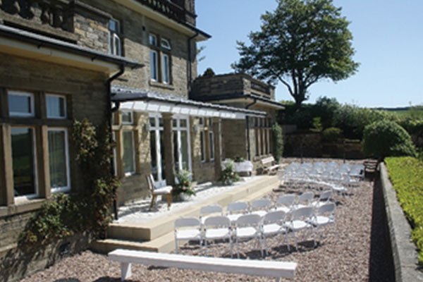 Outside of wedding venue Craigmar in North Yorkshire