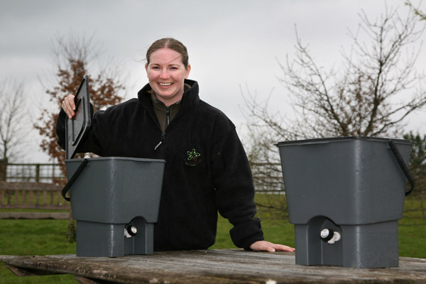 Composting and recycling in North Yorkshire.