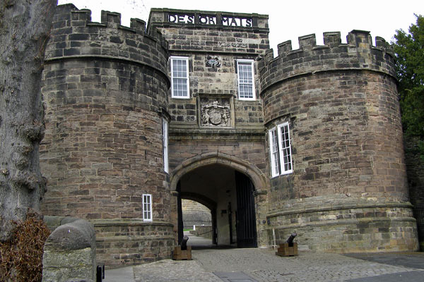Skipton castle entrance