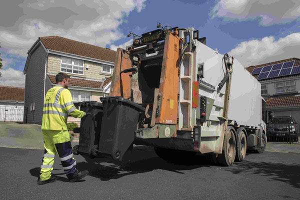 Household waste and recycling collection