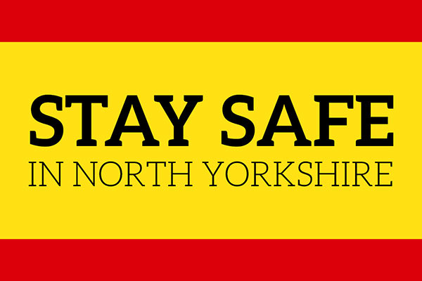 Stay Safe in North Yorkshire graphic