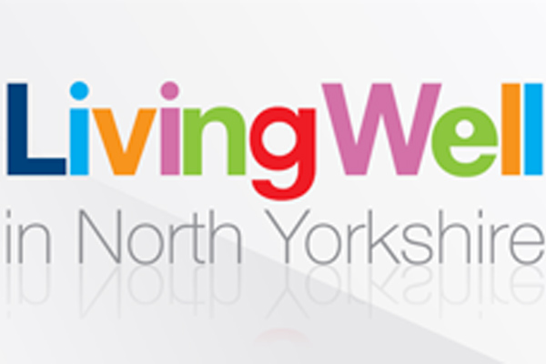 Living Well North Yorkshire logo.