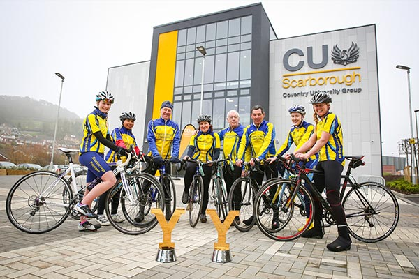 Tour de Yorkshire trophy tour