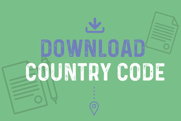 Download the Country Code to ensure safety of your group