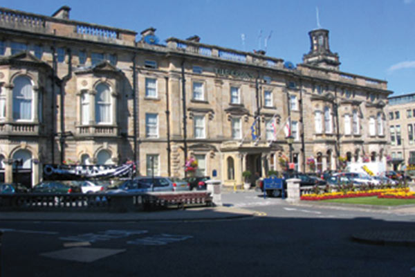Crown Hotel Harrogate.