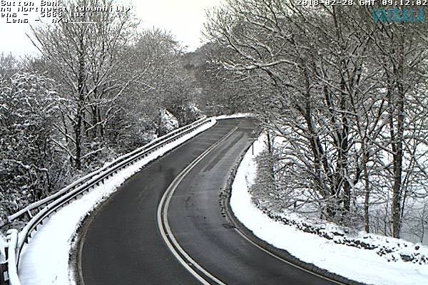 Sutton bank weather camera