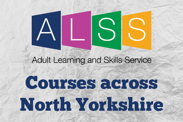 Logo for North Yorkshire's adult learning and skills service.