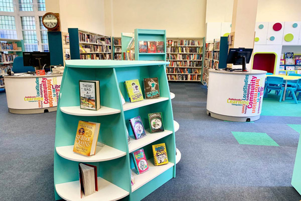 Skipton library after refurbishment June 2019