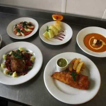 A selection of meals at Belmont House