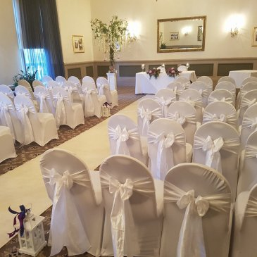 Seating for wedding ceremony