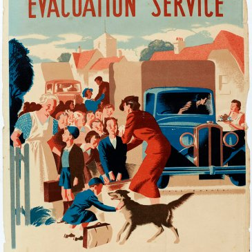 A poster circulated around the Pateley Bridge area encouraging women to volunteer for the evacuation service