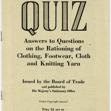 Clothing coupon quiz