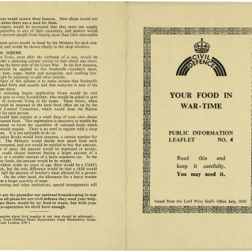 Rationing public information leaflet