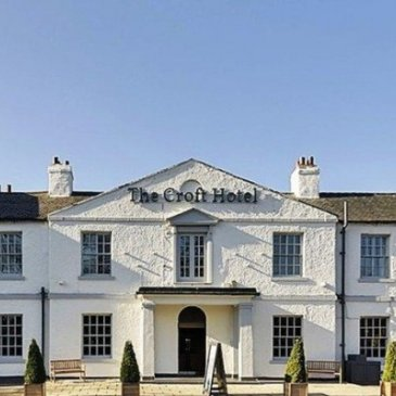 Photograph of the exterior of the Croft Hotel