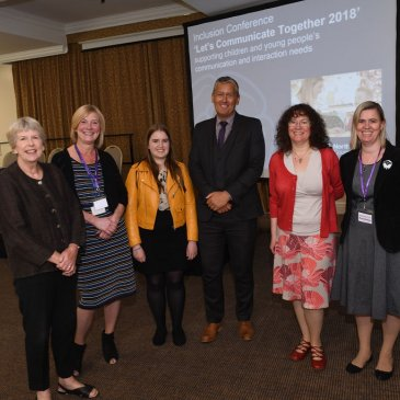 The speakers at the 2018 Inclusion Conference in Harrogate.