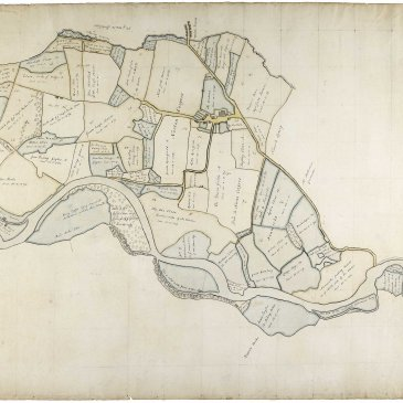 18th century estate map of Norton Conyers, Ripon: North Yorkshire County Record Office