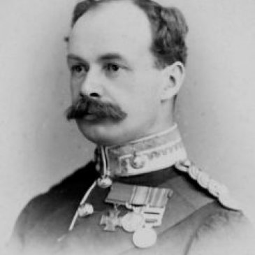 Major Alan Hill-Walker VC, the Military representative for the Thirsk area.  He was awarded the Victoria Cross during the First Boer War. Grounds for Appeal project, North Yorkshire County Record Office.